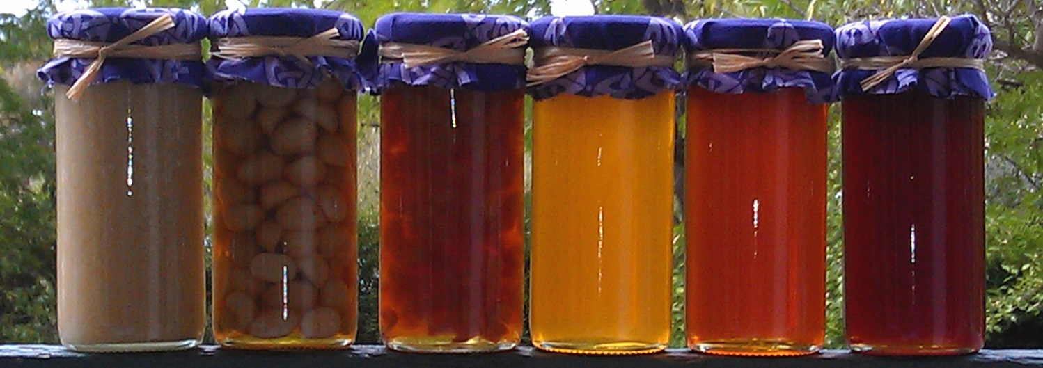 honey-jars