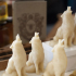 Beeswax Candles – wolves